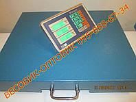 Весы с радиоканалом WimpeX TCS-R3 Wi-Fi 600кг 500х600мм, фото 1