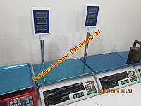 Весы с дисплеем на стойке Олимп ACS-D1 40кг