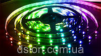 Cветодиодная  лента в силиконе  SMD 5050, 60 диодов, цветная.