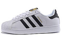 Женские кроссовки Adidas Superstar ll WHITE BLACK GOLD