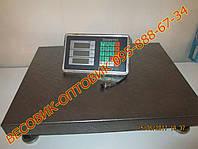Весы усиленные 2мм сталь Domotec TCS-102C 300кг 450х600