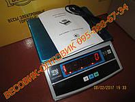 Весы электронные торговые фасовочные ВТЕ-Центровес-3-Т3-ДВ до 3кг (дел. 0,5г)
