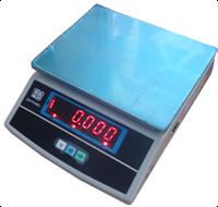 Весы фасовочные ВТЕ-Центровес-6-Т3-ДВ 247х192мм 6кг (дел. 1г), фото 1