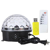 Магический Светодиодный Шар (LED Magic Ball Light M-6)