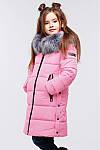 Зимнее пальто для девочек Вики