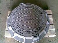 Люк тяжелый Т  (C250) с з/у и мех.обр. Н120 , комплект
