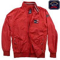 Куртка-ветровка  мужская Paul Shark, красная