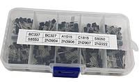 Транзисторы набор 200шт. - BC337 BC327 2N2222 2N2907 2N3904 2N3906 S8050 S8550 A1015 C1815