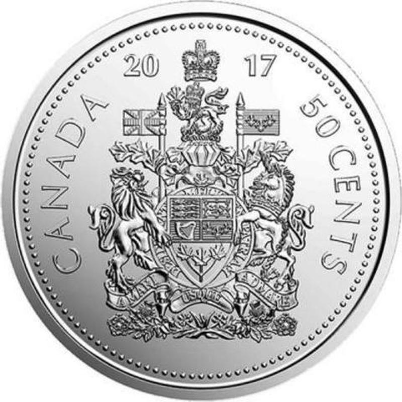 Канада 50 центов 2017 год