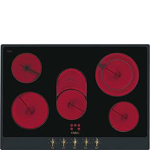 Cтеклокерамическая варочная панель Smeg P875AO, фото 2