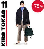 Куртка модная зимняя японская Киро Токао