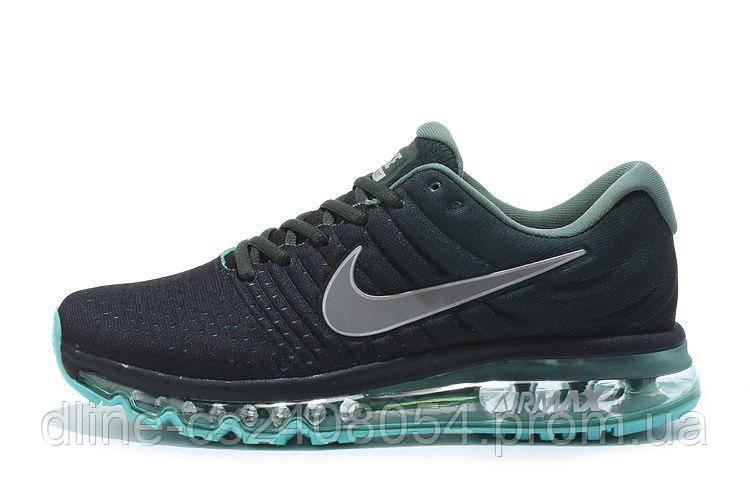 Мужские кроссовки Nike Air Max 2017 Black Green