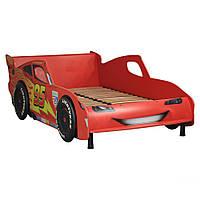 Кровать Тачки 900Х2000 Дизайн Дисней Тачки Молния Маккуин гонки