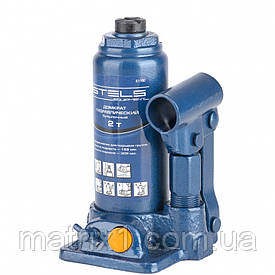 Домкрат гидравлический бутылочный, 2 т, h подъема 158–308 мм Stels 51100