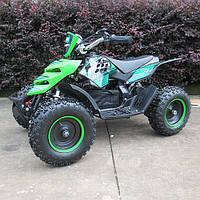 Детский электрический квадроцикл 800W Profi ATV 5E-5 зеленый
