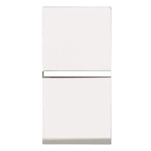 Выключатель 1 кл. универсальный (1 мод.) ABB Zenit Белый N2102 BL