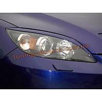 Реснички на фары для Mazda 3 2003-2009 седан