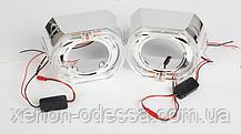 """Маска для ксеноновых линз 3.0"""" : BMW F-Style G137-CREE White со светодиодными Ангельскими Глазами LED CREE, фото 3"""