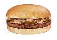 Бургер с котлетой из свиного мяса