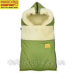 Конверт на овчині Kinder Comfort Grand Khaki (хакі)