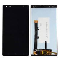 Дисплей (экран) для Lenovo Vibe X3 + с сенсором (тачскрином) черный