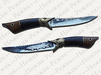 Нож ручной работы, подарок другу, рыбацкий нож, туристические ножи