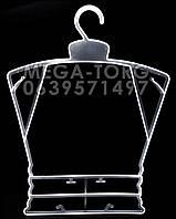 Плечики каркасЛ-29 цвет матовый,плечи 29,5см, высота 39,5см, талия 22,5см, бедра 25см, ширина плеча 0,4