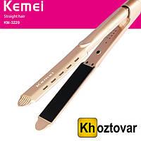 Утюжок для выпрямления волос Kemei KM-3229
