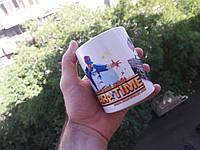Чашка фирменная от продюсерского центра Star Time Новая!