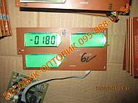 Плата индикации VITOL, 5v (окна) XY-2470 для весов OXI, Мир Весов 100-150-300-400-600-800кг с 6v АКБ Размер 165х79мм, фото 1