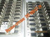 Разъем металлический 9-pin ( RS232 ) для платформенных весов комплект (мама+папа)