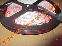 Светодиодная цветная лента (LED) 5050 RGB 5м, фото 1