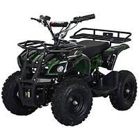 Детский электрический квадроцикл Profi HB-EATV 800N-10 зеленый камуфляж
