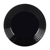 Тарелка Luminarc Harena Black 25 см, фото 1