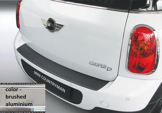 RBP512 Rear bumper protector  Mini Countryman 2010-2017 ALU