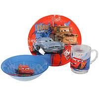 """Набор детской посуды Luminarc """"Disney Cars"""" 3 пр"""
