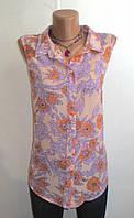 Нежная Блуза без рукавов от Jimalaier Размер: 50-L