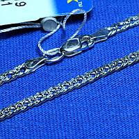 Серебряный браслет Панцирное плетение 18 см 90206206041, фото 1
