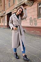 Пальто женское , ткань с ворсом на подкладе,длина 120 2 расцветки ,фото реал ,супер качество акор№5374