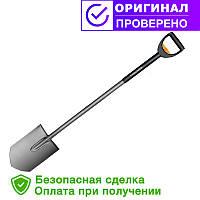Телескопическая лопата Fiskars, штыковая (1001567/131300)
