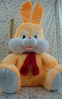 Мягкая плюшевая игрушка Заяц сидит,25'130