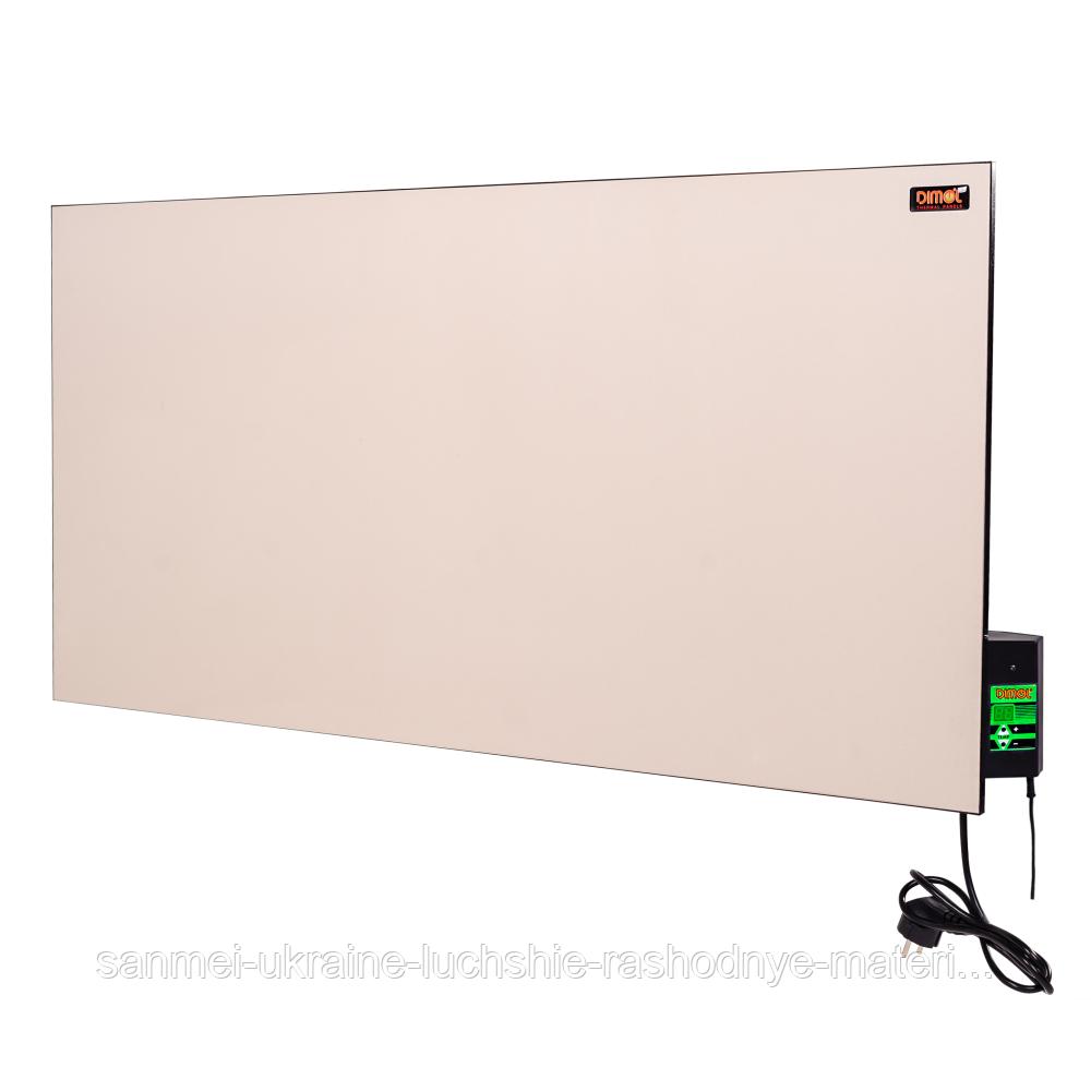Керамическая электропанель Dimol Maxi 05 с терморегулятором (кремовая)