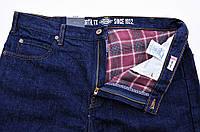 Джинсы мужские зимние Dickies(США)/W36xL32/на фланелевой подкладке(байке)/Relaxed Fit/Оригинал из США.