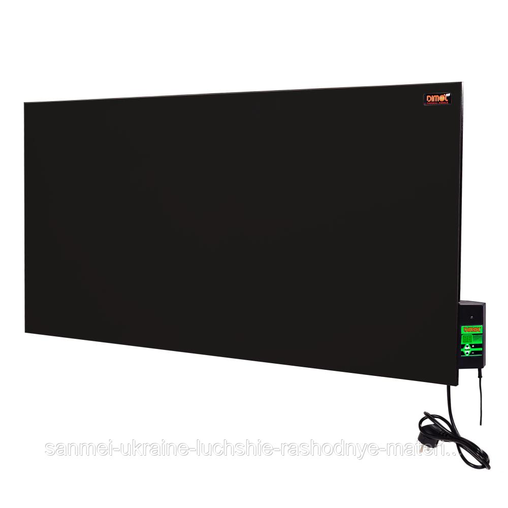 Керамическая электропанель Dimol Maxi 05 с терморегулятором (графитовая)