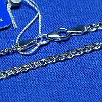 Серебряный браслет панцирное плетение Нонна 19 см 90220205041, фото 1