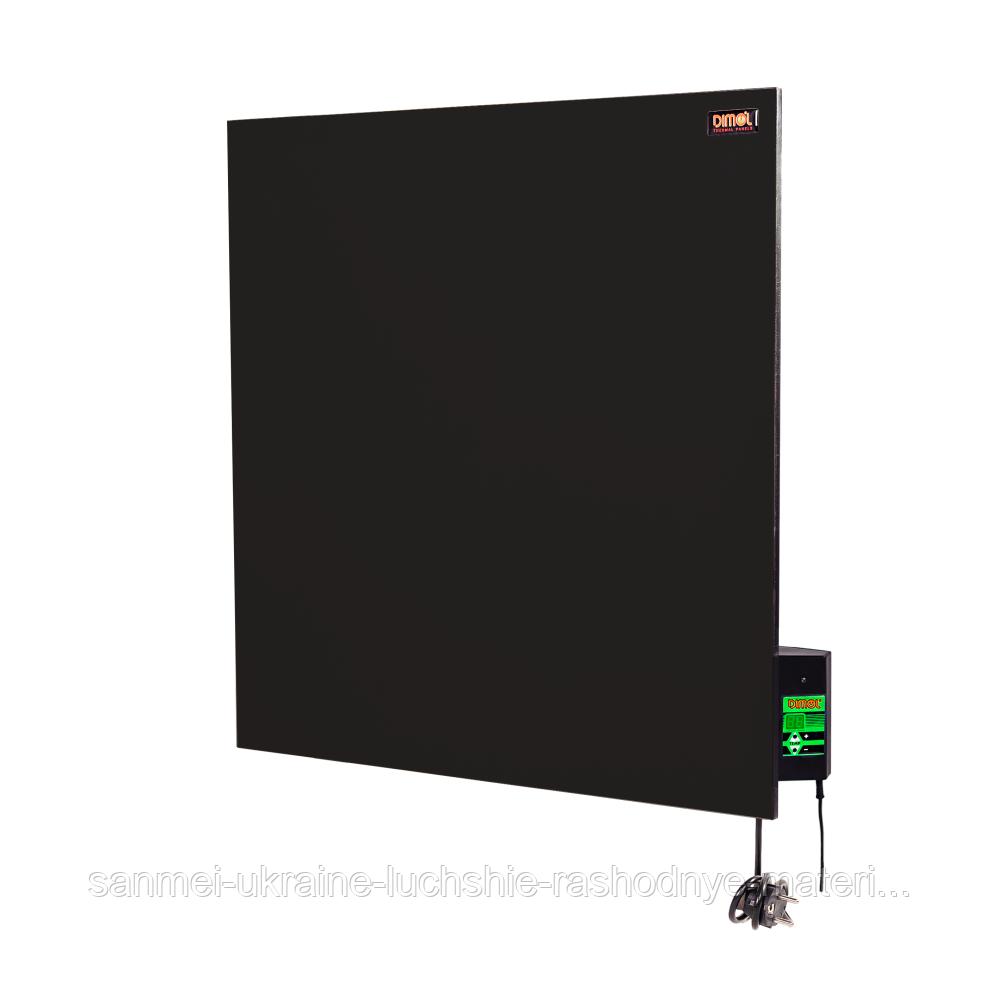 Керамическая электропанель Dimol Standart 03 с терморегулятором (графитовая)