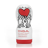 Мастурбатор-рот Tenga Keith Haring Deep Throat Cup, 16х7 см.