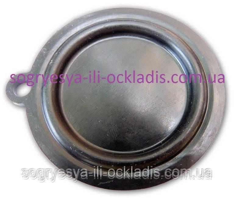 Мембрана резиновая 53 мм (без фир.упак) газовых колонок пр-во Китай, код сайта 0746