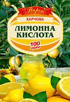 "Лимонная кислота 100 г  ТМ ""Впрок"""
