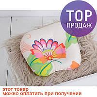 Подушка для новорожденных Гжель / аксессуары для детской